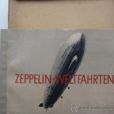 Coleccionismo Álbum: ALBUM ZEPPELIN WELTFAHRTEN ÁLBUM TOUR MUNDIAL DEL ZEPPELIN.COMPLETO 265 CROMOS AÑOS 30.IMPRESIONANTE. Lote 38975770