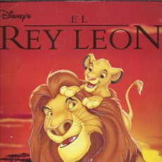 Coleccionismo Álbum: ALBUM COMPLETO EL REY LEÓN DISNEY PANINI. Lote 38995962