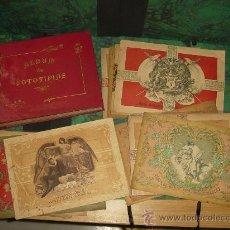 Coleccionismo Álbum: ALBUMES DE FOTOTIPIAS DE LAS CAJAS DE CERILLAS (1897). ¡¡ 30 ALBUMES !!. Lote 39030278