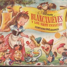 Coleccionismo Álbum: ALBUM COMPLETO BLANCANIEVES EDITORIAL BRUGUERA . Lote 39042481