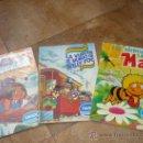 Coleccionismo Álbum: 3 ALBUMES DANONE MAYA WILLY FOG Y JACKY EL OSO DE TALLAC COMPLETOS AÑO 1.978 . Lote 39087126