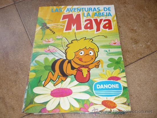 Coleccionismo Álbum: 3 AlbumES DANONE MAYA WILLY FOG Y JACKY EL OSO DE TALLAC COMPLETOS Año 1.978 - Foto 2 - 39087126