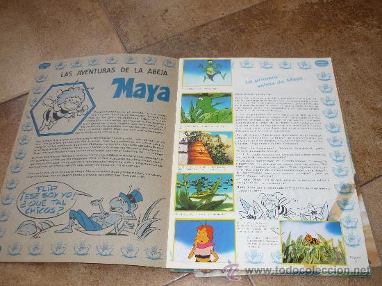 Coleccionismo Álbum: 3 AlbumES DANONE MAYA WILLY FOG Y JACKY EL OSO DE TALLAC COMPLETOS Año 1.978 - Foto 3 - 39087126