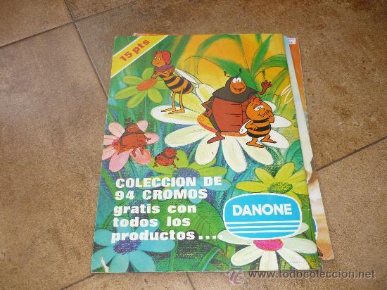 Coleccionismo Álbum: 3 AlbumES DANONE MAYA WILLY FOG Y JACKY EL OSO DE TALLAC COMPLETOS Año 1.978 - Foto 4 - 39087126