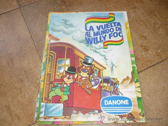 Coleccionismo Álbum: 3 AlbumES DANONE MAYA WILLY FOG Y JACKY EL OSO DE TALLAC COMPLETOS Año 1.978 - Foto 5 - 39087126