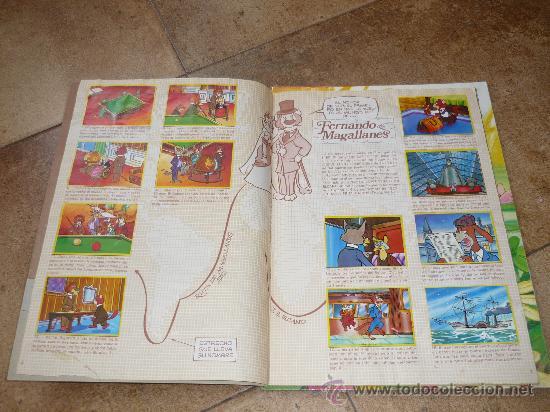Coleccionismo Álbum: 3 AlbumES DANONE MAYA WILLY FOG Y JACKY EL OSO DE TALLAC COMPLETOS Año 1.978 - Foto 7 - 39087126