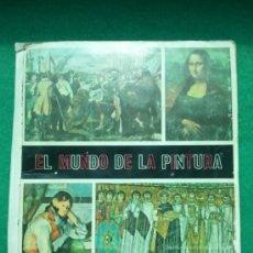 Coleccionismo Álbum: ALBUM EL MUNDO DE LA PINTURA DE DIFUSORA DE CULTURA. Lote 39092023