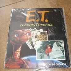 Coleccionismo Álbum: ALBUM CROMOS - ET EL EXTRATERRESTRE - ALBUM ESTE - 1982 . Lote 39109182