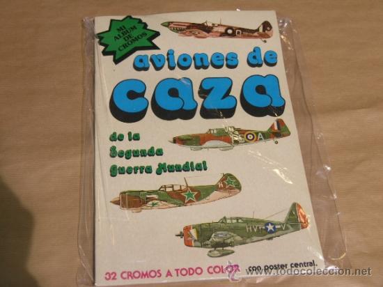 ALBUM AVIONES DE CAZA (Coleccionismo - Cromos y Álbumes - Álbumes Completos)