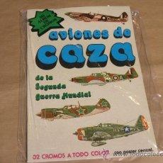 Coleccionismo Álbum: ALBUM AVIONES DE CAZA. Lote 39208290