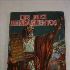 Coleccionismo Álbum: ÁLBUM LOS DIEZ MANDAMIENTOS, EDITORIAL BRUGUERA, S.A. 1959 - COMPLETO. Lote 39614169