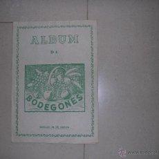 Coleccionismo Álbum: ALBUM BODEGONES COMPLETO DE LOS MAS RAROS DE CASULLERAS. Lote 39767563