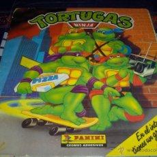 Coleccionismo Álbum: TORTUGAS NINJA COMPLETO. PANINI 1990. .. Lote 39768781