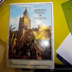 Coleccionismo Álbum: SEMANA SANTA DE SEVILLA ALBUM COMPLETO CON 224 CROMOS EN . Lote 39784184