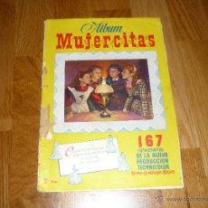Coleccionismo Álbum: ÁLBUM DE CROMOS COMPLETO DE LA PELÍCULA MUJERCITAS, EDT. CLIPER 1952. Lote 39875782