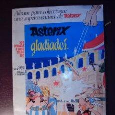 Coleccionismo Álbum: ASTERIX GLADIADOR. COMPLETO .. Lote 40043310