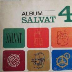 Coleccionismo Álbum: ALBUM DE CROMOS SALVAT 4. COMPLETO . Lote 41497579