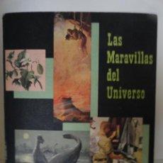 Coleccionismo Álbum: ALBUM LAS MARAVILLAS DEL UNIVERSO II VOLUMEN 1957 COMPLETO . Lote 40408739