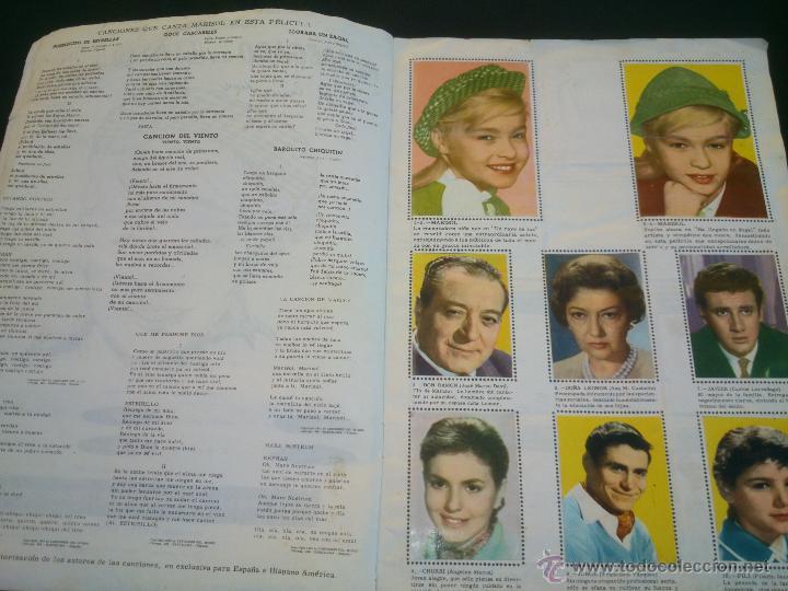 Coleccionismo Álbum: ÁLBUM DE CROMOS COMPLETO DE LA PELÍCULA DE MARISOL HA LLEGADO UN ANGEL EDT. FHER 1961 - Foto 4 - 40413727