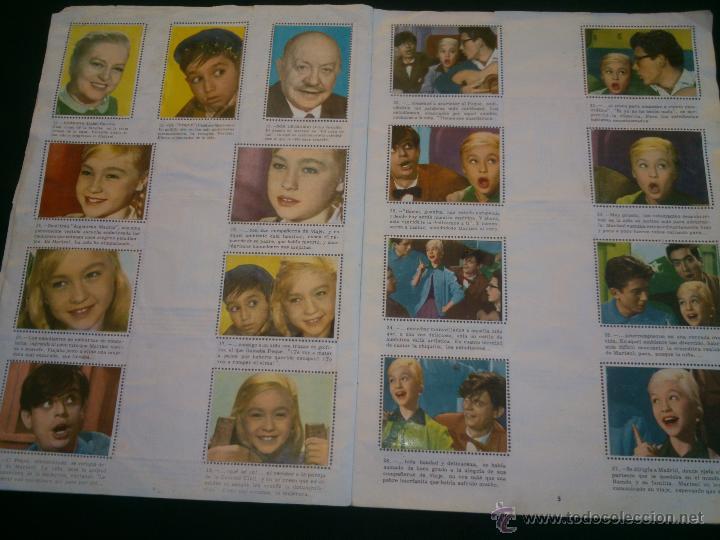 Coleccionismo Álbum: ÁLBUM DE CROMOS COMPLETO DE LA PELÍCULA DE MARISOL HA LLEGADO UN ANGEL EDT. FHER 1961 - Foto 5 - 40413727