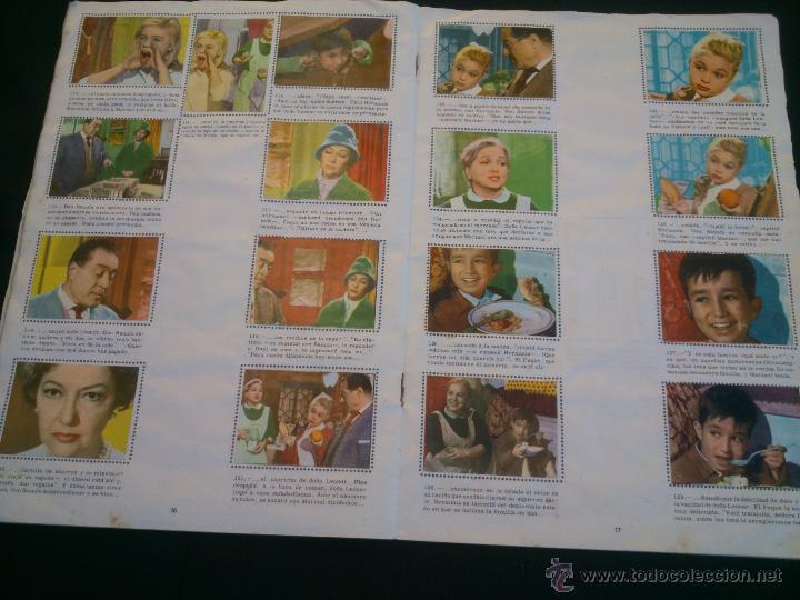 Coleccionismo Álbum: ÁLBUM DE CROMOS COMPLETO DE LA PELÍCULA DE MARISOL HA LLEGADO UN ANGEL EDT. FHER 1961 - Foto 6 - 40413727