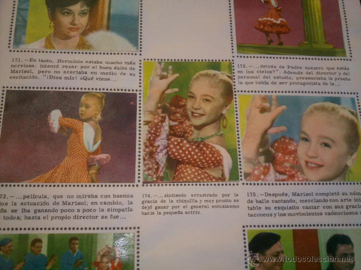 Coleccionismo Álbum: ÁLBUM DE CROMOS COMPLETO DE LA PELÍCULA DE MARISOL HA LLEGADO UN ANGEL EDT. FHER 1961 - Foto 7 - 40413727