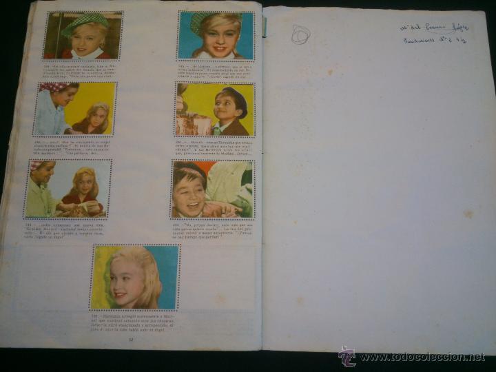 Coleccionismo Álbum: ÁLBUM DE CROMOS COMPLETO DE LA PELÍCULA DE MARISOL HA LLEGADO UN ANGEL EDT. FHER 1961 - Foto 8 - 40413727