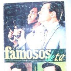 Coleccionismo Álbum: ALBUM FAMOSOS DE T.V -AÑO 66-COMPLETO-. Lote 40419735