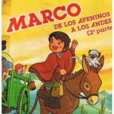 Coleccionismo Álbum: MARCO DE LOS APENINOS A LOS ANDES (2ª PARTE) DANONE. - COMPLETO -(ST/PN2). Lote 40451860