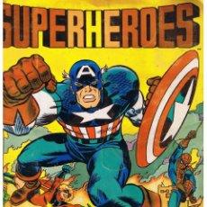 Coleccionismo Álbum: ALBUM SUPERHEROES FHER. ¡¡ COMPLETO !!. Lote 40468148