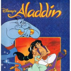 Coleccionismo Álbum: ALBUM: DISNEY´S ALADDIN. PANINI ¡¡ COMPLETO !! (ST/PN1). Lote 40574756