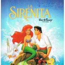 Coleccionismo Álbum: ALBUM: LA SIRENITA. PANINI ¡¡ COMPLETO !! 232 CROMOS. (ST/PN1). Lote 40574809