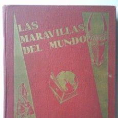Coleccionismo Álbum: LAS MARAVILLAS DEL MUNDO, EDITADO POR NESTLE, SERIES 1 A 40, COMPLETO. Lote 40700474
