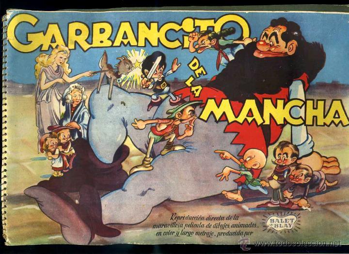 GARBANCITO DE LA MANCHA : COLECCION COMPLETA DE 240 CROMOS - EDITORIAL RUIZ ROMERO (Coleccionismo - Cromos y Álbumes - Álbumes Completos)