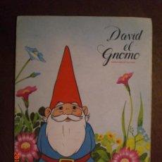 Coleccionismo Álbum: DAVID EL GNOMO - DANONE. Lote 40866650