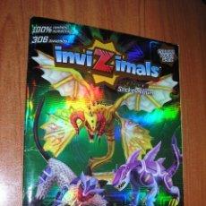 Coleccionismo Álbum: INVIZIMALS EVOLUTION-COMPLETO-PANINI-2012. Lote 40875188