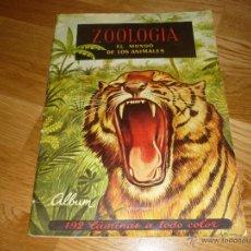 Coleccionismo Álbum: ALBUM DE CROMOS ZOOLOGIA EL MUNDO DE LOS ANIMALES DE FERCA - 1961 COMPLETO. Lote 40977550