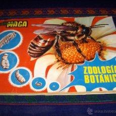 Coleccionismo Álbum: ZOOLOGÍA Y BOTÁNICA COMPLETO 288 CROMOS. MAGA 1969. REGALO ANIMALES Y MINERALES INCOMPLETO CON CUPÓN. Lote 41003226