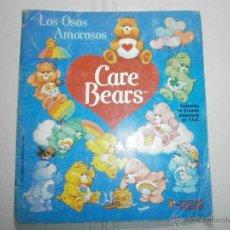 Coleccionismo Álbum: ALBUM COMPLETO LOS OSOS AMOROSOS CARE BEARS. Lote 41016472