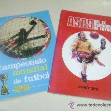 Coleccionismo Álbum: ÁLBUM COPA MUNDIAL INGLATERRA 1966 Y MÉXICO 70 - 100 % COMPLETOS PARA PEGAR !!. Lote 103680987
