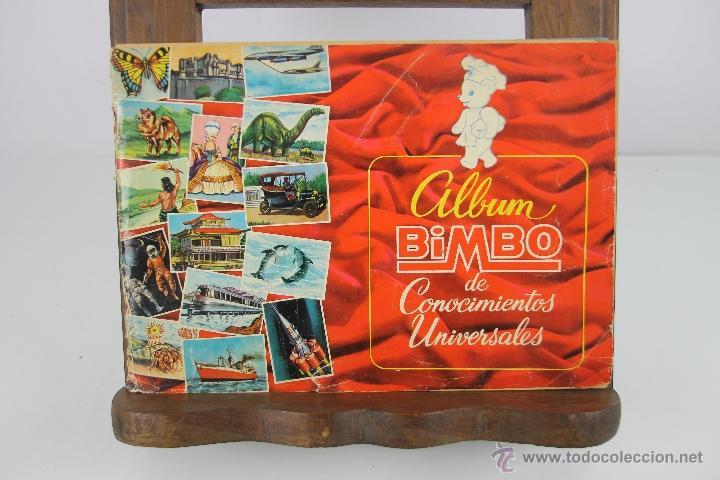 4252- LOTE DE 4 ALBUMES COMPLETOS BIMBO. AÑOS 70. VER DESCRIPCION. (Coleccionismo - Cromos y Álbumes - Álbumes Completos)