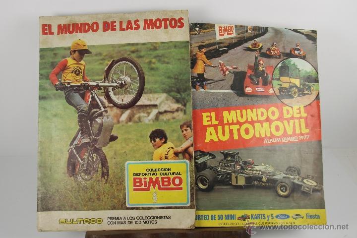 Coleccionismo Álbum: 4252- LOTE DE 4 ALBUMES COMPLETOS BIMBO. AÑOS 70. VER DESCRIPCION. - Foto 2 - 41086495