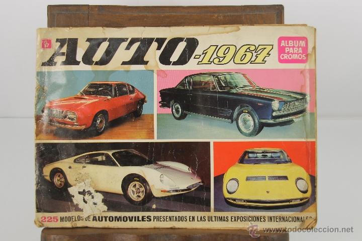 4321- ALBUM AUTO 1967. EDIT. BRUGUERA. COMPLETO. (Coleccionismo - Cromos y Álbumes - Álbumes Completos)