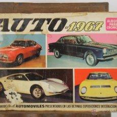 Coleccionismo Álbum: 4321- ALBUM AUTO 1967. EDIT. BRUGUERA. COMPLETO.. Lote 195110071