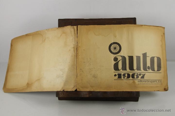 Coleccionismo Álbum: 4321- ALBUM AUTO 1967. EDIT. BRUGUERA. COMPLETO. - Foto 2 - 195110071