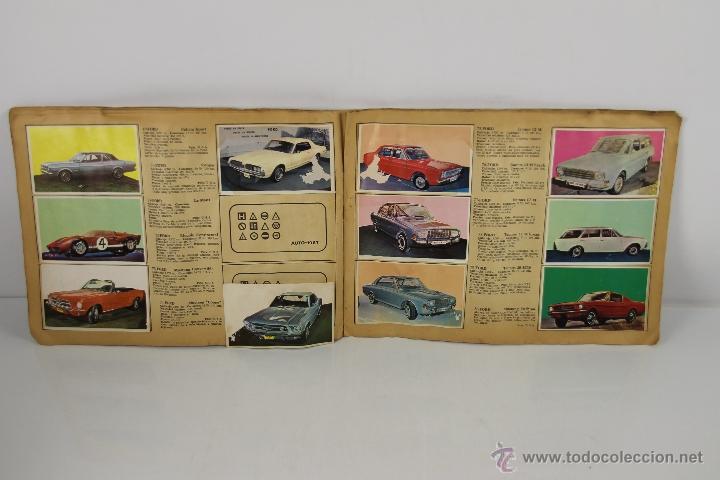 Coleccionismo Álbum: 4321- ALBUM AUTO 1967. EDIT. BRUGUERA. COMPLETO. - Foto 3 - 195110071