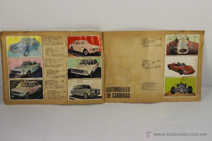 Coleccionismo Álbum: 4321- ALBUM AUTO 1967. EDIT. BRUGUERA. COMPLETO. - Foto 4 - 195110071