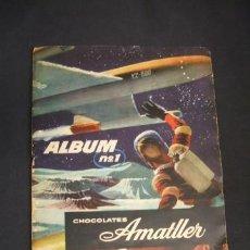 Coleccionismo Álbum: ALBUM DE CROMOS COMPLETO - ALBUM Nº 1 - CHOCOLATES AMATLLER - . Lote 41201384