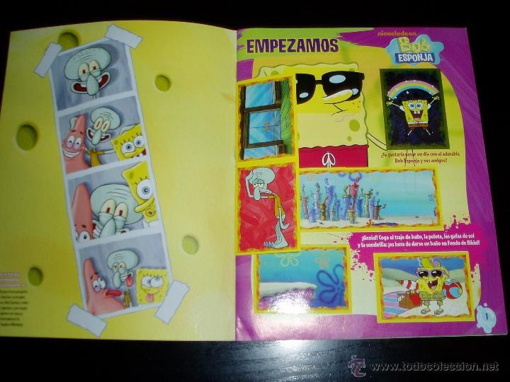 Album De Cromos Bob Esponja No Stop Completo Sold Through