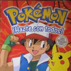 Coleccionismo Álbum: POKÉMON ALBUM CROMOS COMPLETO + POSTER COMPLETO ( STIKER ALBUM). Lote 153475590